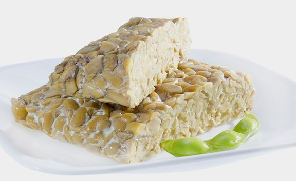 Tempeh uncooked