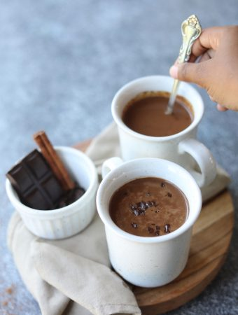 Vegan Masala Spiced Hot Cocoa