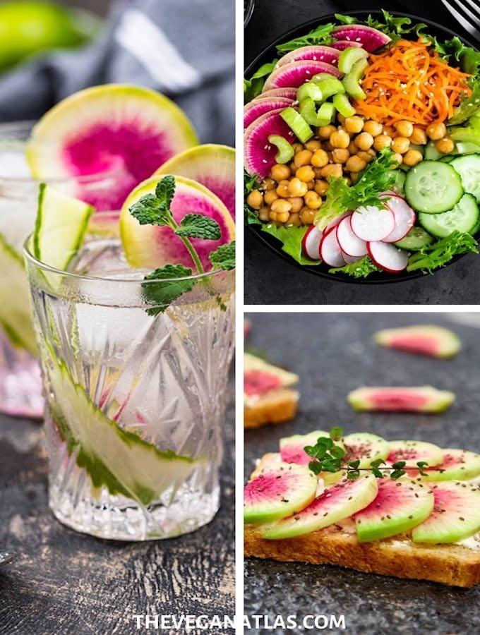 how to use watermelon radish