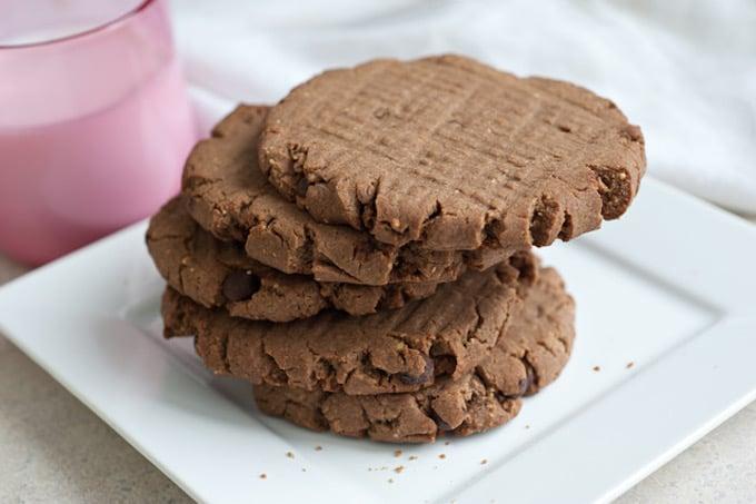 gluten free peanut butter teff cookies