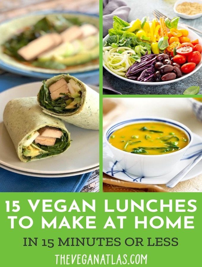 15 vegan lunches to make at home in 15 minutes