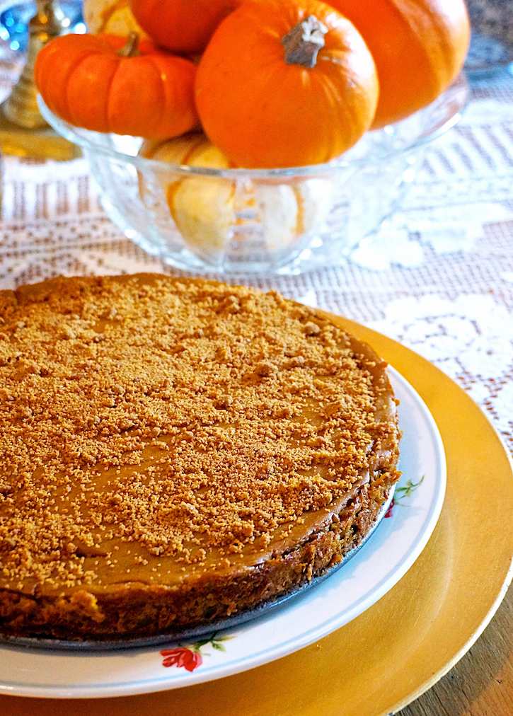 Laura Theodore's pumpkin cheeze-cake