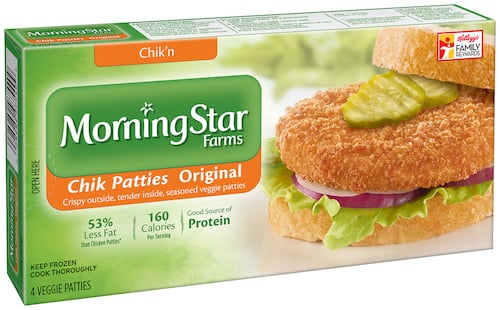 Morningstar farms chik patties