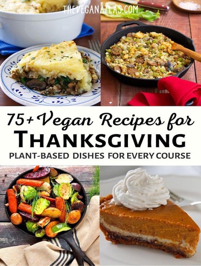 Vegan Thanksgiving recipes roundup