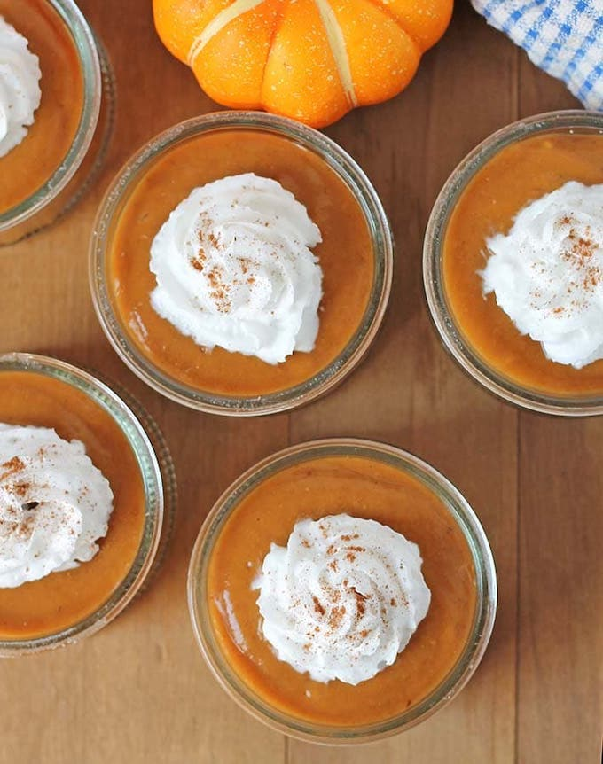 vegan pumpkin pudding