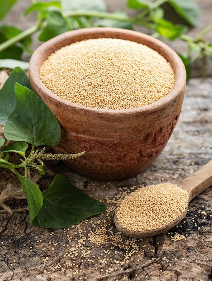 Raw Amaranth Grain