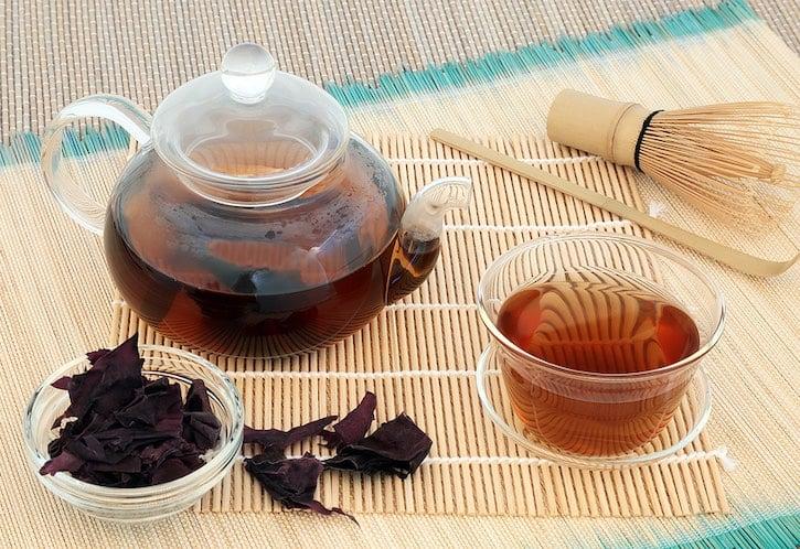 Dulse seaweed tea