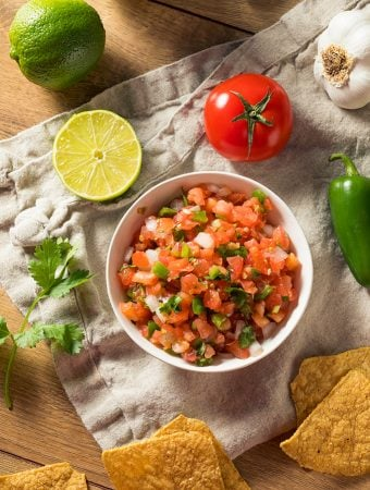pico de gallo - fresh tomato salsa