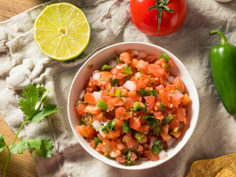 Fresh Tomato Salsa Salsa Fresca The Vegan Atlas