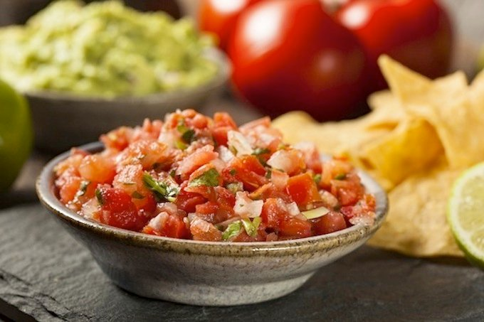 Salsa Cruda, Pico De Gallo, or Fresh tomato salsa