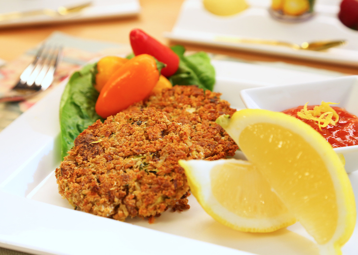 Vegan crab cakes recipe