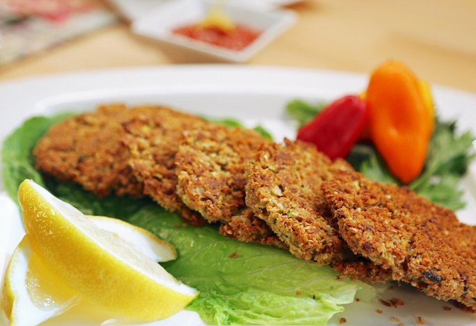 Laura Theodore's Vegan crab cakes recipe