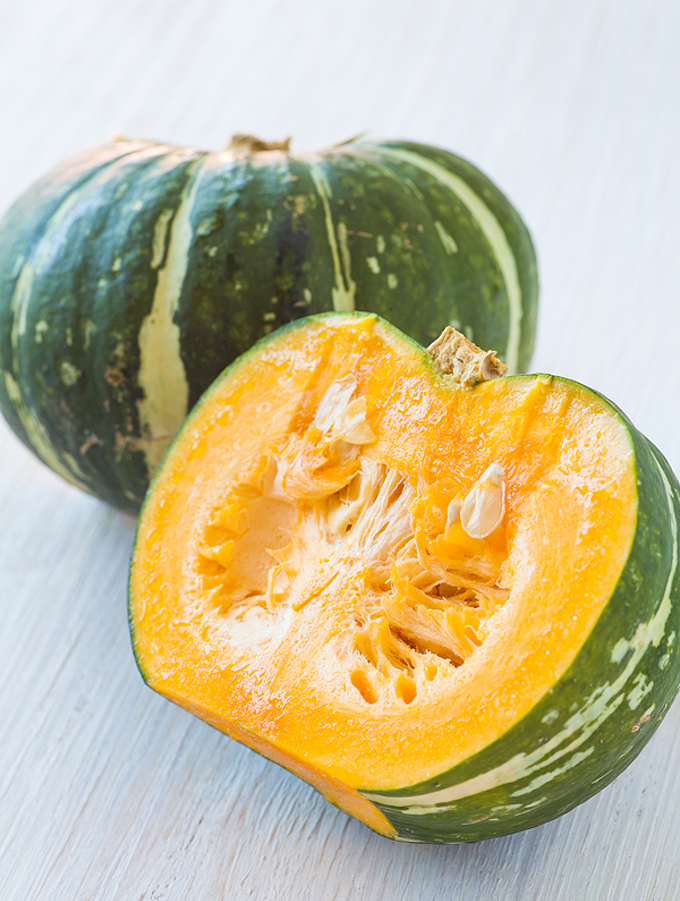 Kabocha or Japanese pumpkin