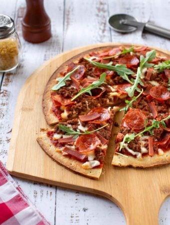 vegan Meat Lovers Pizza