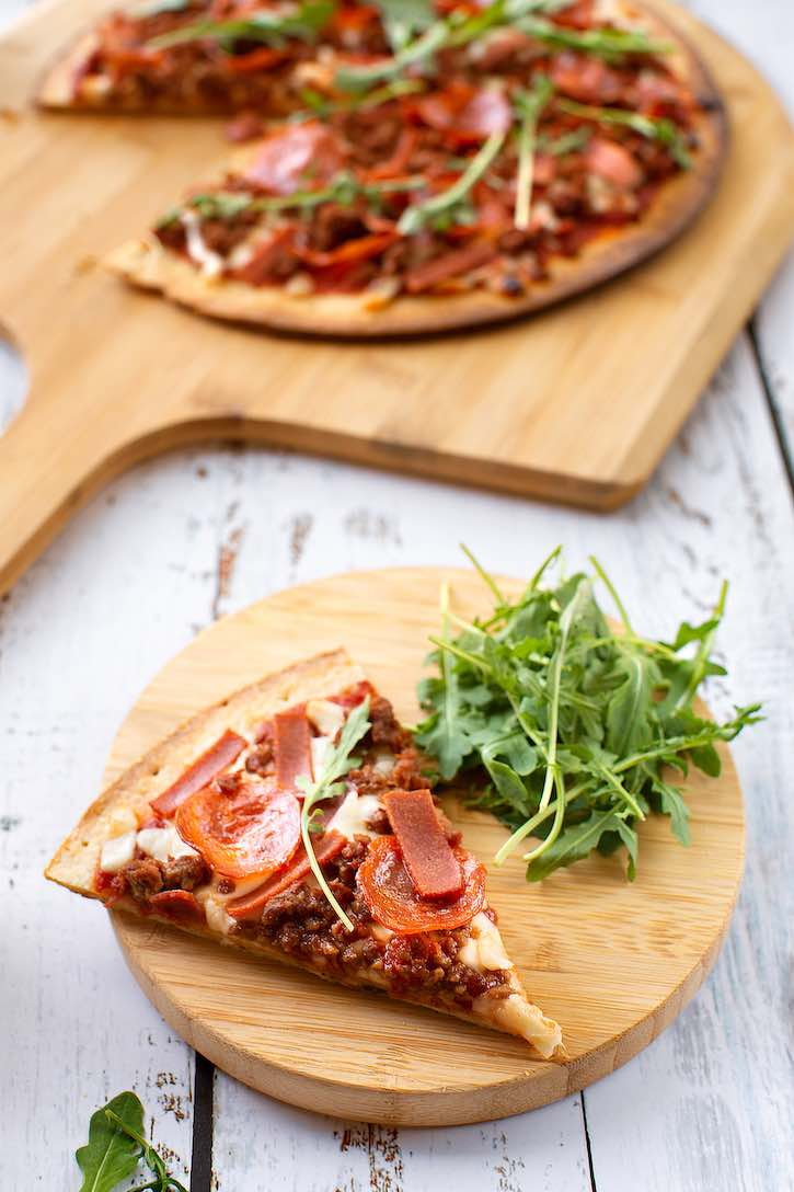 Plant-based Meat Lovers Pizza