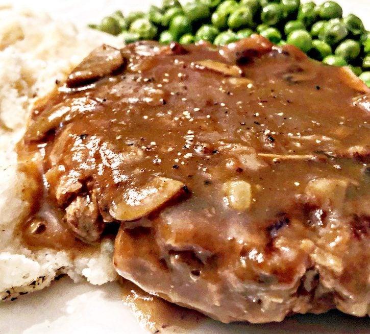 Vegan Salisbury Steak