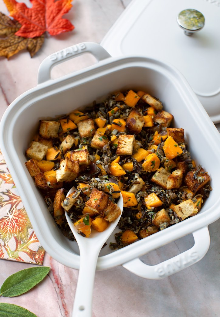 Vegan Wild rice & butternut stuffing2 sm1