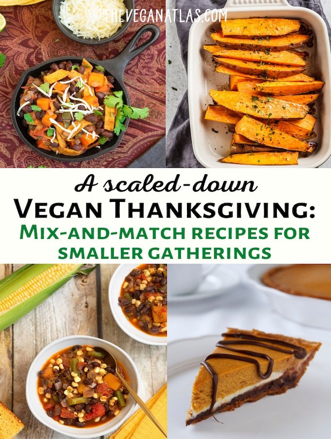 A scaled down vegan Thanksgiving