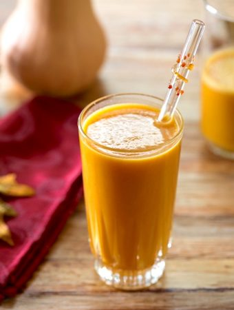 Vegan Butternut squash or pumpkin smoothie