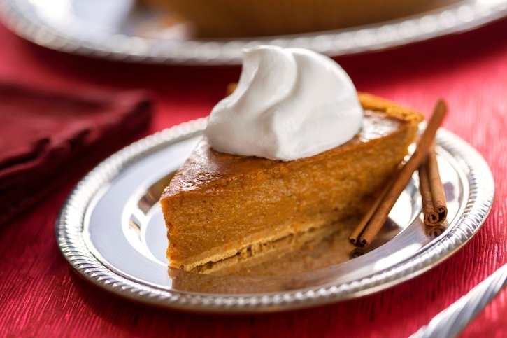 Easy Vegan pumpkin pie2