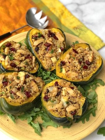 Quinoa and Improved Nature- stuffed squash4 sm