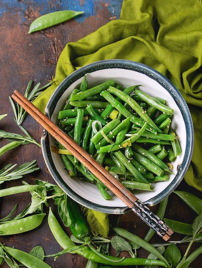 Stir-Fried Sesame Green Beans