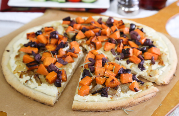 Vegan Sweet Potato Pizza
