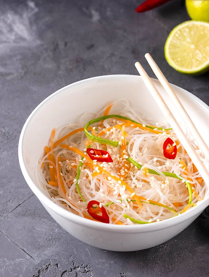 Bean Thread or Rice Noodle Salad