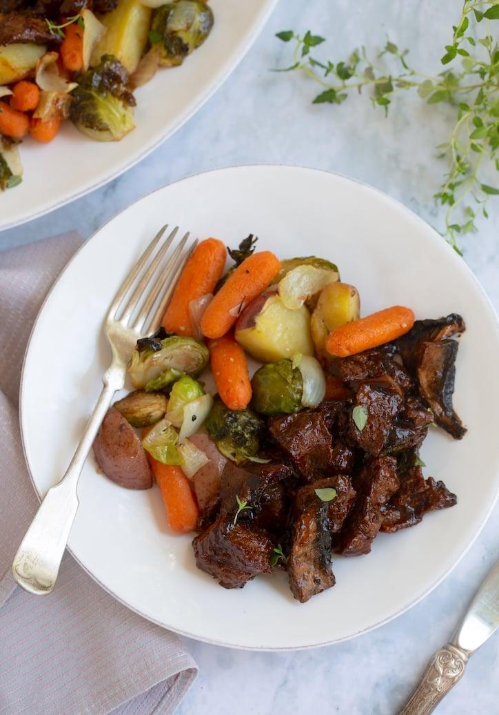 Beefy Holiday Vegan Pot Roast