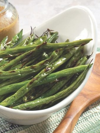 Pan-Grilled Green Beans