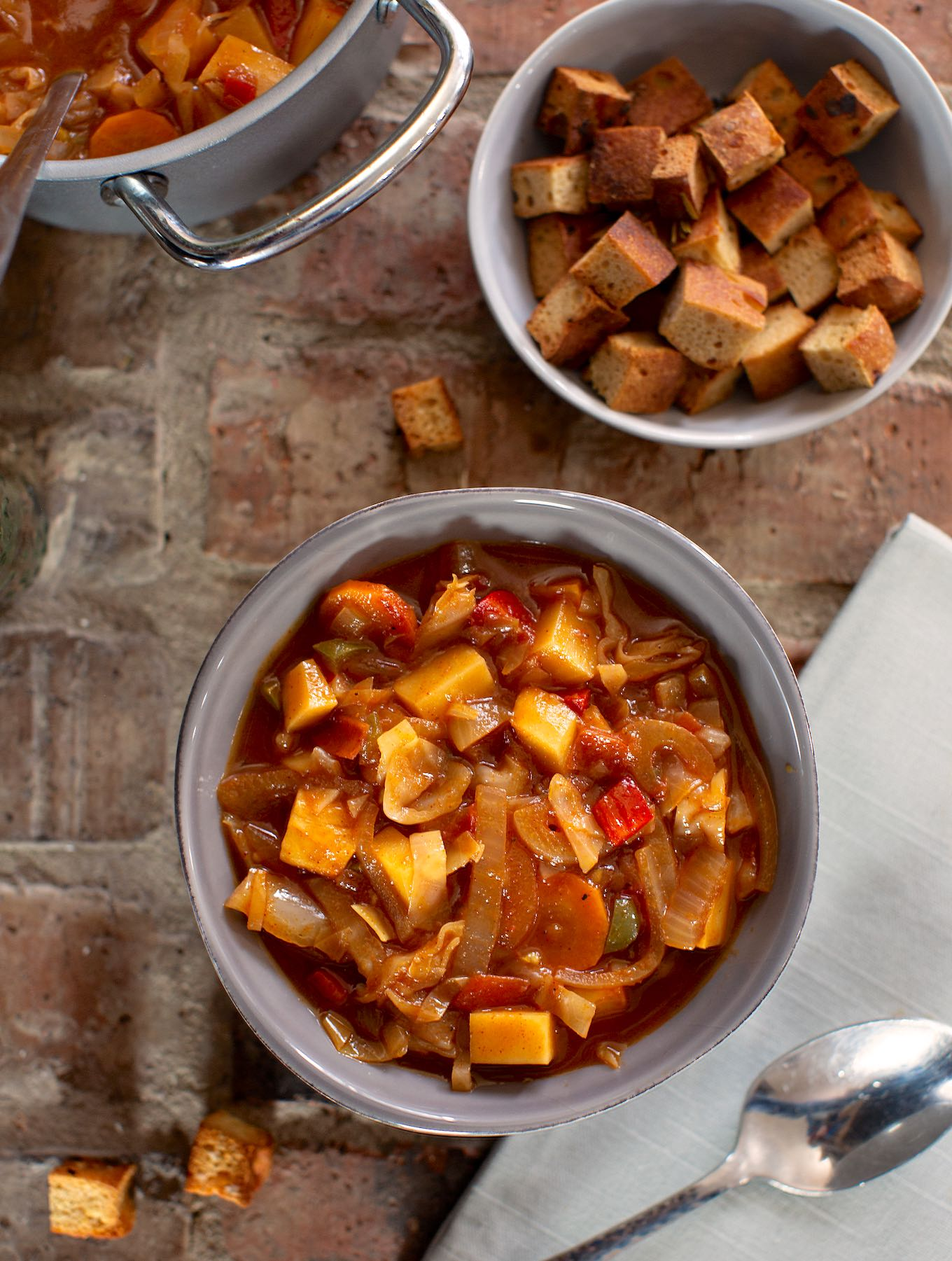 Sweet & sour Cabbage soup sm1