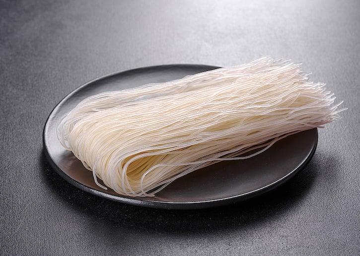 Thin Asian rice noodles — rice vermicelli, rice-sticks, mei fun