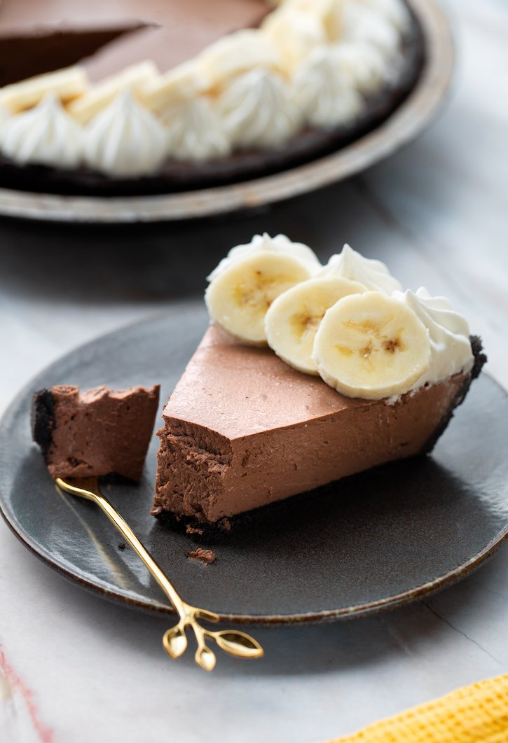 Tofu chocolate mousse pie2sm
