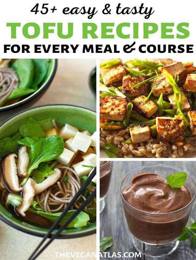 Tofu recipes roundup