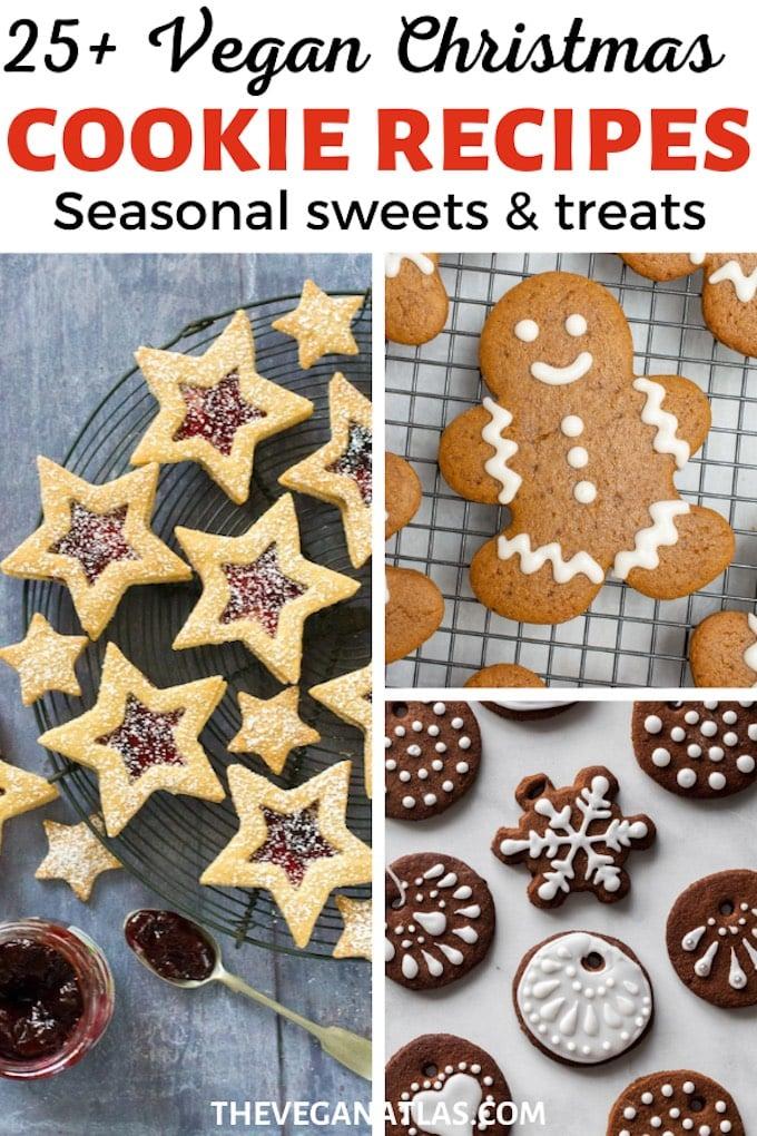 Vegan Christmas Cookies round-up