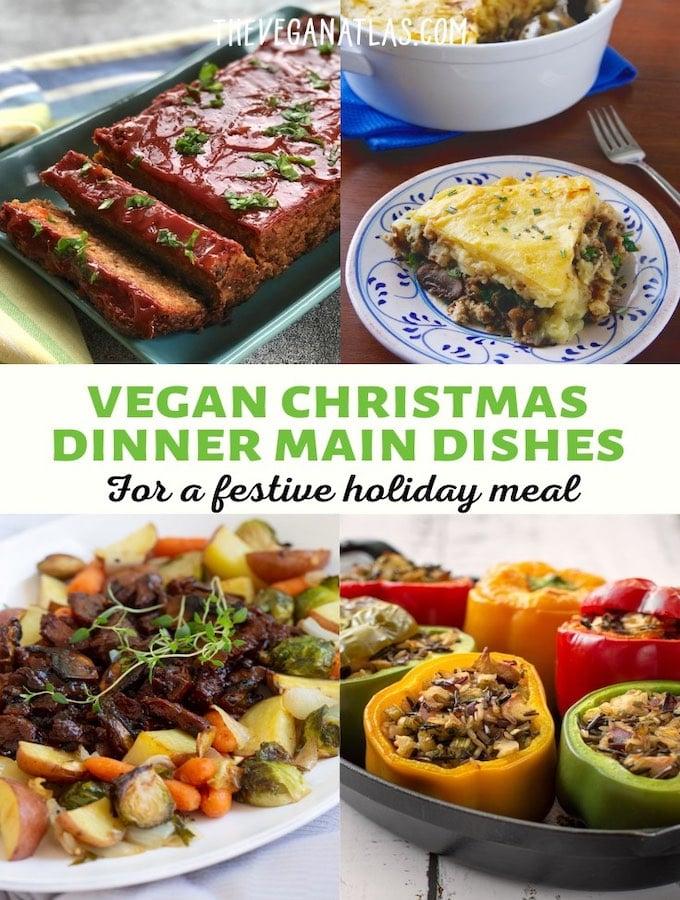 Vegan Christmas dinner main dishes