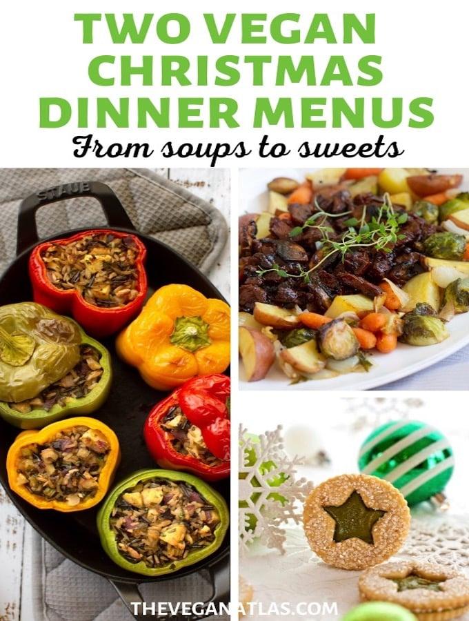 Vegan Christmas dinner menus