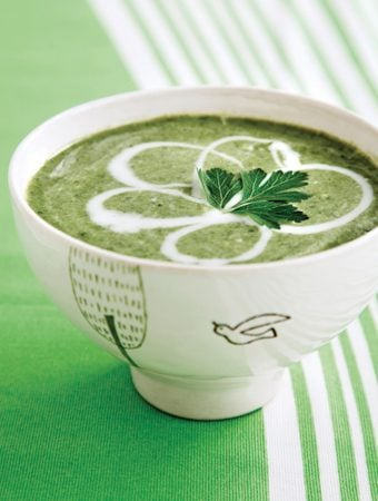 Cream of Leafy Greens Soup