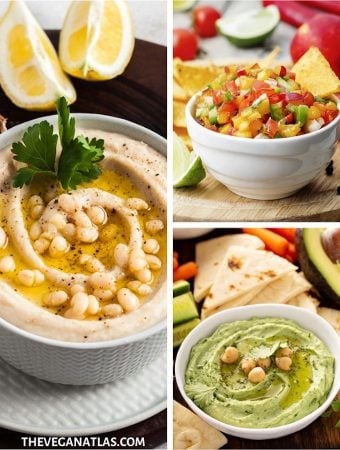 vegan dips and spreads