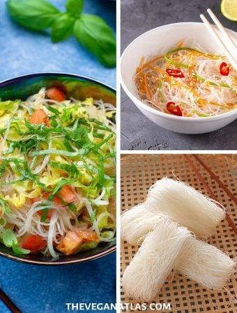 guide to bean thread or cellophane noodles