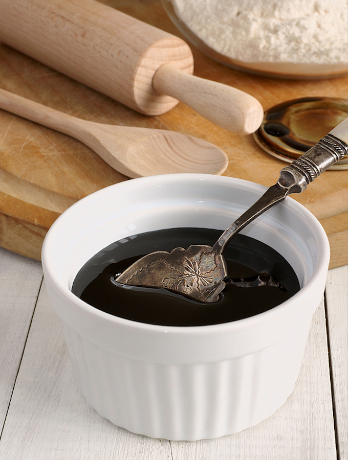 Molasses used in baking