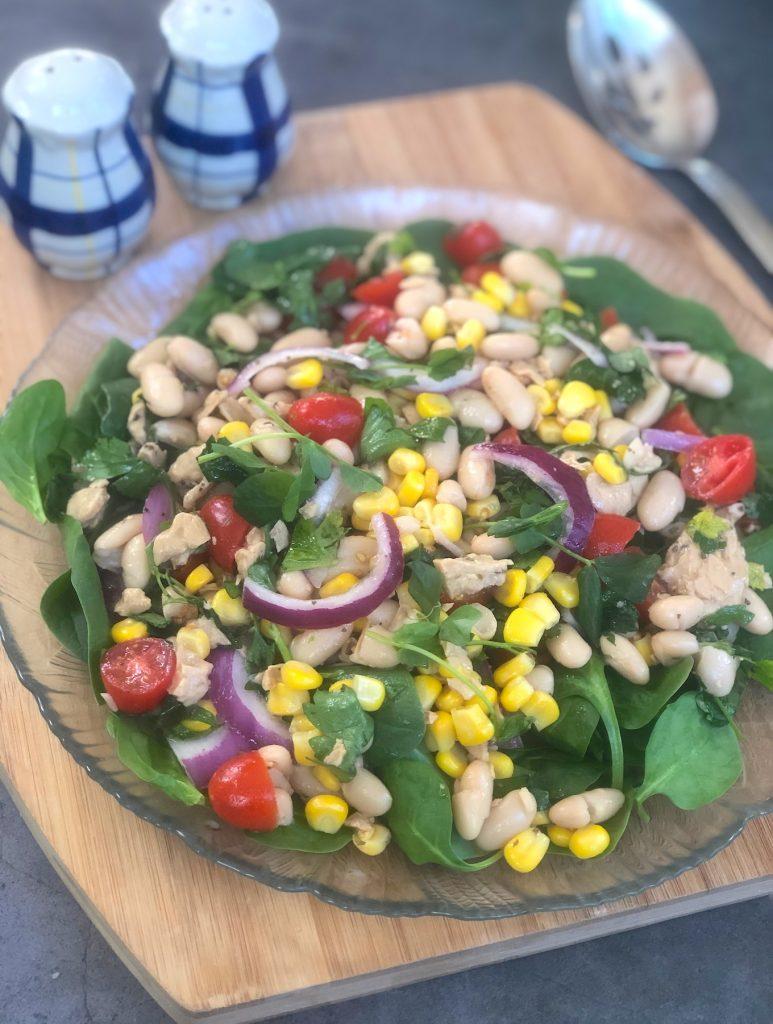 Vegan Tuna and White Bean Salad