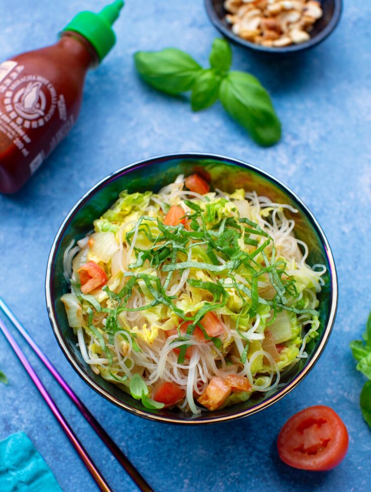 Vietnamese bean-thread noodles vegan