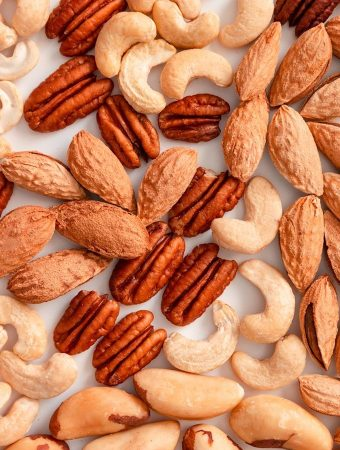 Mixed nuts — nut varieties