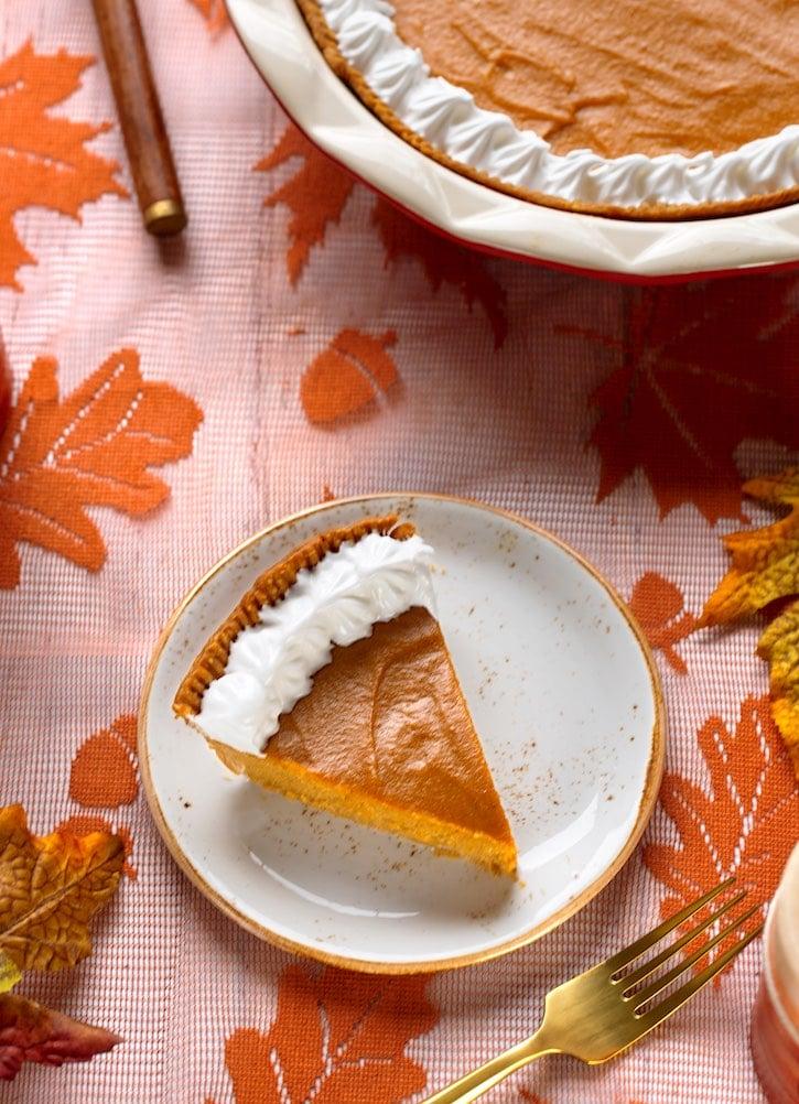 Sweet potato Pie - vegan