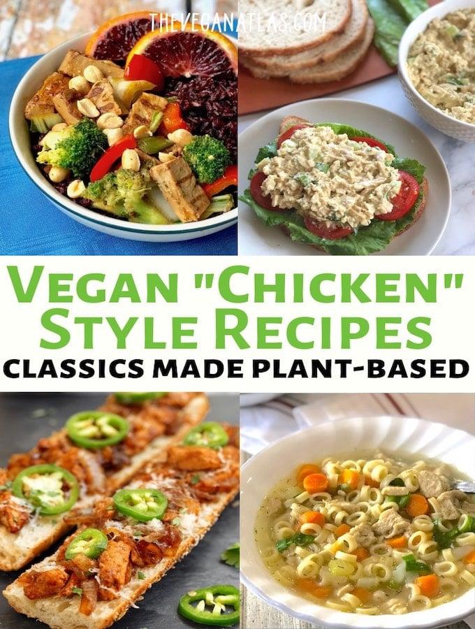 Vegan Chicken recipes