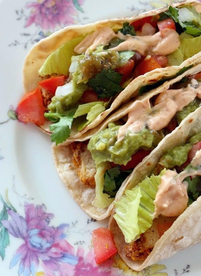 Vegan-Fried-Chicken-Tacos