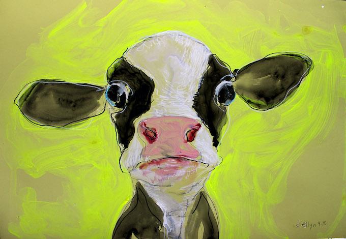 veal calf by Dana Ellyn