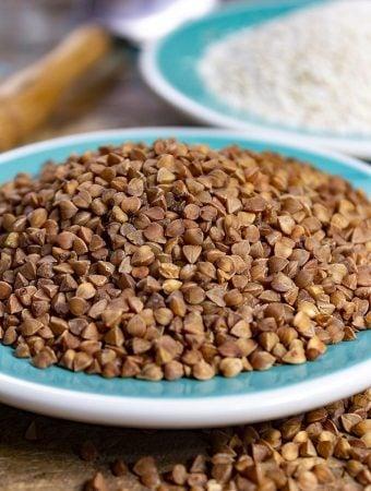 Buckwheat groats and flour