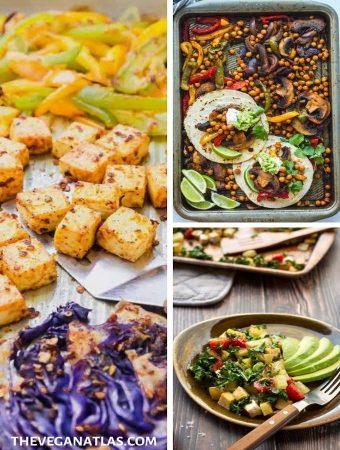 Easy Vegan sheet pan dinners